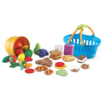New Sprouts Deluxe Market Set By Learning Resources
