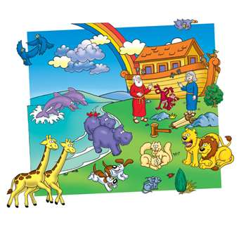 Noahs Ark Pre-Cut Felt Set 20 Figures By Little Folks Visuals