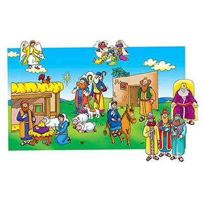 Baby Jesus Pre-Cut Felt Set 17 Figures By Little Folks Visuals