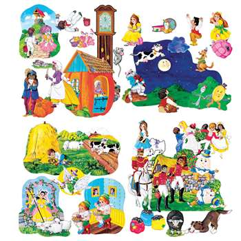 Flannelboards Nursery Rhyme Complte Set By Little Folks Visuals