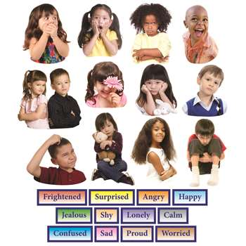 Emotions Flannelboard Set 24Pk By Little Folks Visuals