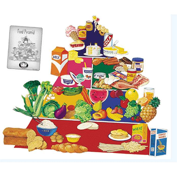 Food Pyramid Flannelboard Set New Pyramid No Lfv22413 By Little Folks Visuals