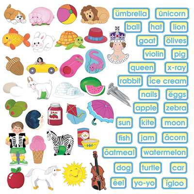 Abc Phonics Set Flannelboard Set By Little Folks Visuals