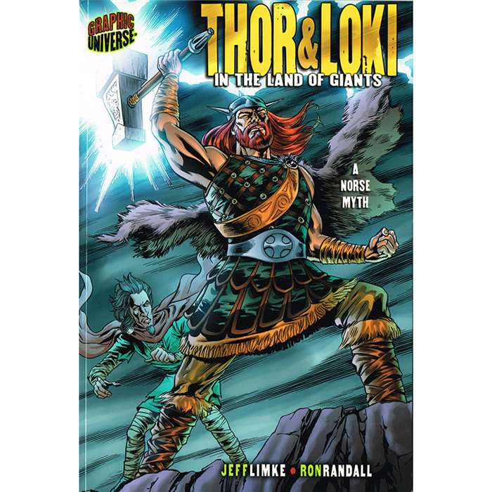 "Thor & Loki "" The Land Of The Giants, LPB0822564815"