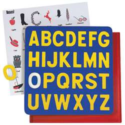 Puzzle A-Z Capitals 2T Letters Ages 3-6 By Lauri
