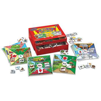 Beginning Sounds Phonics Learning Center Kit By Lauri