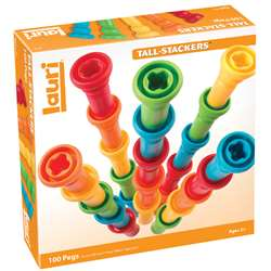 Tall-Stacker Pegs 100-Pk By Lauri