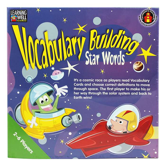 Vocabulary Building Star Words Blue By Edupress