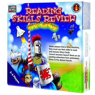 Reading Skills Rev Time Capsule Bl By Edupress