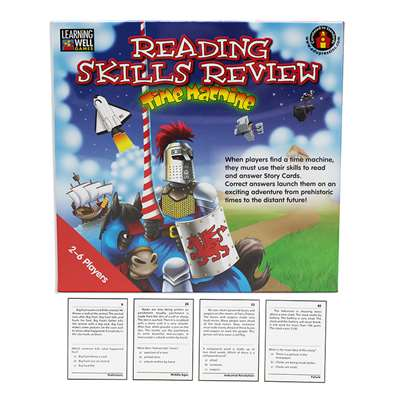 Reading Skills Rev Time Capsule Rd By Edupress