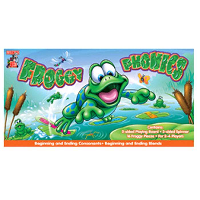 Froggy Phonics - Digraphs/Diphthong By Edupress
