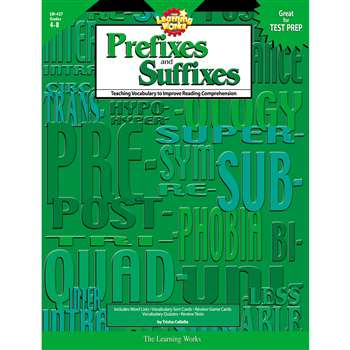 Prefixes And Suffixes By Creative Teaching Press