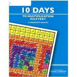 10 Days To Multiplication Mastery Student Workbook By Learning Wrap-Ups