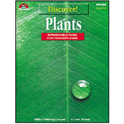Discover Plants Gr 4-6 By Milliken Lorenz Educational Press