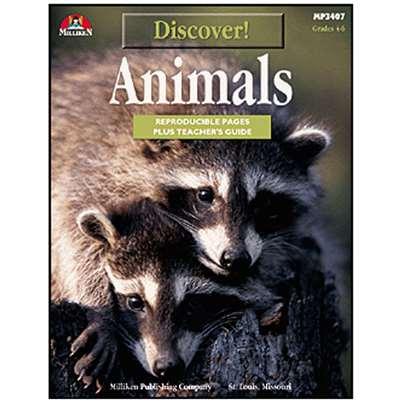 Discover Animals Gr 4-6 By Milliken Lorenz Educational Press