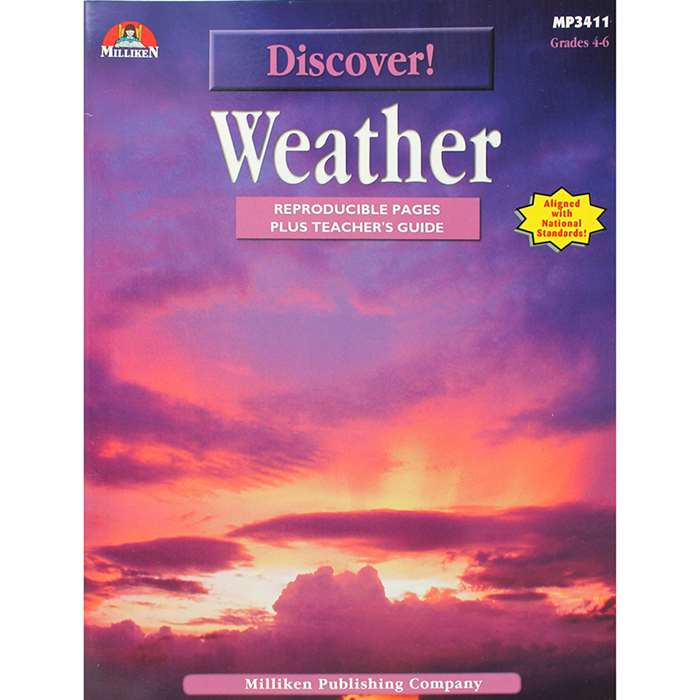 Discover Weather Gr 4-6 By Milliken Lorenz Educational Press