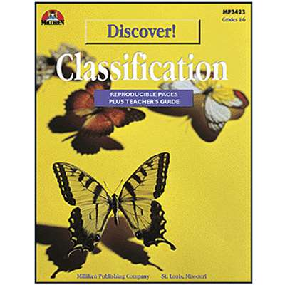 Discover Classification Gr 4-6 By Milliken Lorenz Educational Press