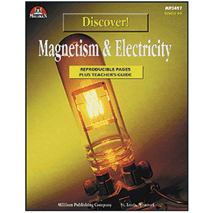 Discover Magnetism & Electrimcity Gr 4-6 By Milliken Lorenz Educational Press