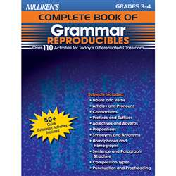Millikens Gr 3-4 Complete Book Of Grammar Reproducibles By Milliken Lorenz Educational Press