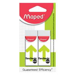 Technic 600 Refill Erasers 2Pk By Maped Usa