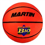 Basketball Junior Orange Size 5 Rubber Nylon W/Ound By Dick Martin Sports