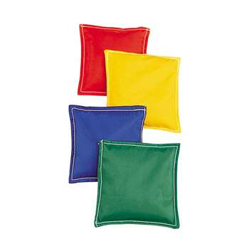 Bean Bags 6 X 6 12-Pk Nylon Cover Plastic Bead Filling By Dick Martin Sports