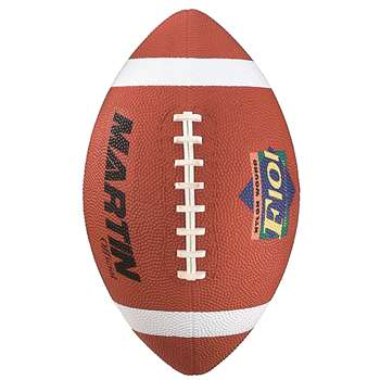 Football Official Brown Rubber Nylon Wound By Dick Martin Sports