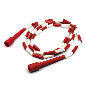 Jump Rope Plastic 8 Sections On Nylon Rope By Dick Martin Sports