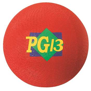 "Playground Ball Red 13"" 2 Ply By Dick Martin Sports"