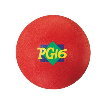 "Playground Ball Red 16"", 2 Ply By Dick Martin Sports"