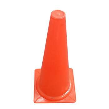 Safety Cone 15 Inch With Base By Dick Martin Sports