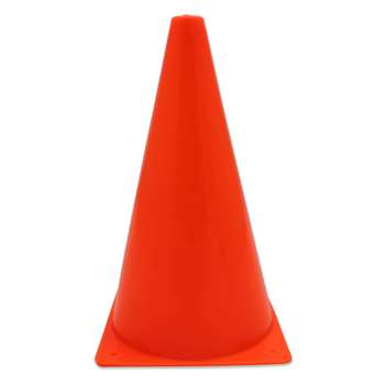 Safety Cone 9 Inch With Base By Dick Martin Sports