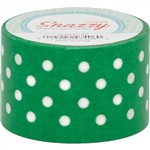 Mavalus Snazzy Green W/ White Polka Dot Tape 1.5 X 39 By Dss Distributing