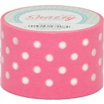 Mavalus Snazzy Pink W/ White Polka Dot Tape 1.5 X 39 By Dss Distributing