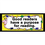 What Good Readers Do Chalkboard Topper By Mcdonald Publishing