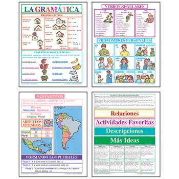 Bb Set Spanish Grammar By Mcdonald Publishing