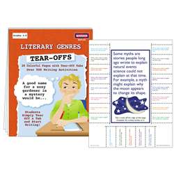 Literary Genres Tear Offs By Mcdonald Publishing