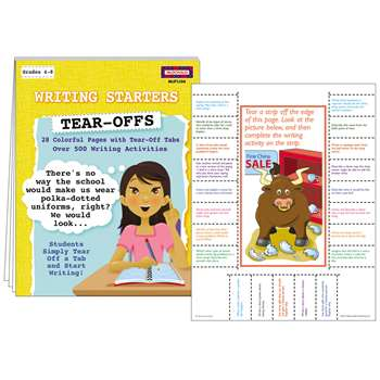 Writing Starters Tear Offs By Mcdonald Publishing