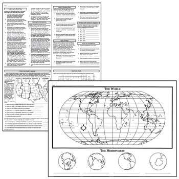 Activity Posters Basic Map Skills By Mcdonald Publishing