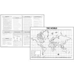 Activity Posters The World 30/Set Gr 4-8 By Mcdonald Publishing