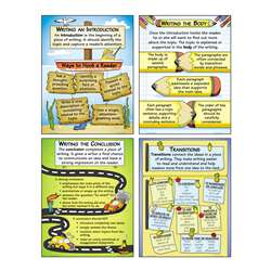 Organizing Good Writing Teaching Poster Set, MC-P199