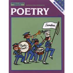Poetry Grade 6-9 By Mcdonald Publishing