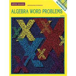 Algebra Word Problems Gr 6-9 By Mcdonald Publishing