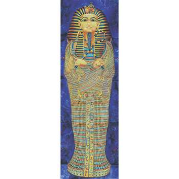 Colossal Poster Egyptian Mummy Gr 4-9& Up Over 5-1/2 Tall By Mcdonald Publishing