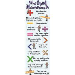 Colossal Poster What Good Mathmaticians Do By Mcdonald Publishing