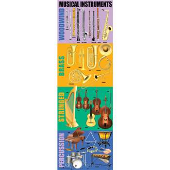Musical Instruments Colossal Poster By Mcdonald Publishing