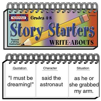 Write Abouts Story Starters By Mcdonald Publishing