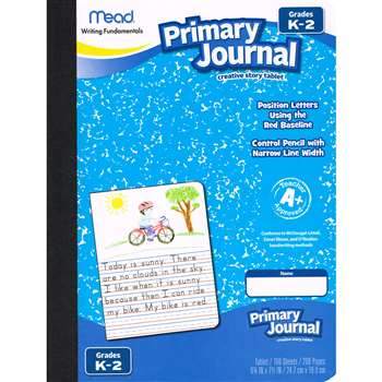 Paper Primary Journal Early 100 Ct Creative Story , MEA09554