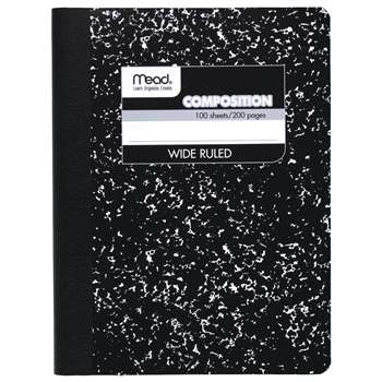 Notebook Composition 100 Ct 9 3/4 X 7 1/2 By Mead Products