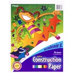 Academie Jr Construction Paper By Mead Products